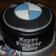 BMW logo cake with keys